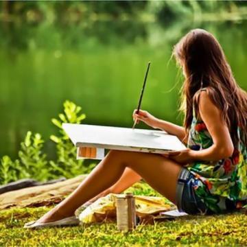 Zīmēšanas un mākslas kursi bērniem un pusaudžiem